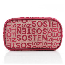 Lady Classic Letters Fashion Polyester Clutch Toiletry Wash Bag (YKY7512)