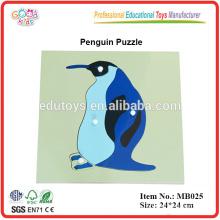 Montessori Tier Puzzle - Pinguin