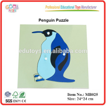 Montessori Animal Puzzle - Pingüino