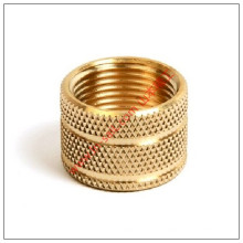 China Supplier Brass Knurled Threaded Round Nuts Manufacturer for Plastics