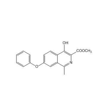 Synthesis Roxadustat Methyl 4-Hydroxy-1-Methyl-7-Phenoxyisoquinoline-3-Carboxylate CAS 1421312-34-6