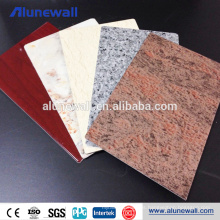 Panel compuesto de aluminio de la mirada de mármol Panel de pared decorativo de ACP ACM