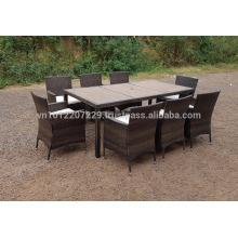 PE Poly Wicker Rattan Outdoor / Mobiliário de jardim - Lounge Set