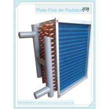 Intercambiador de calor del aire del tubo de cobre para el condensador (SZGG-4-20)