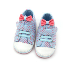 Bow-Knot Wave Point Baby Girls Sportskor