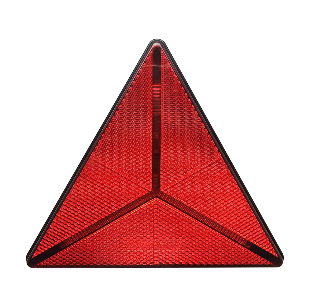 High Quality UV PC Trailer Traingle Reflectors