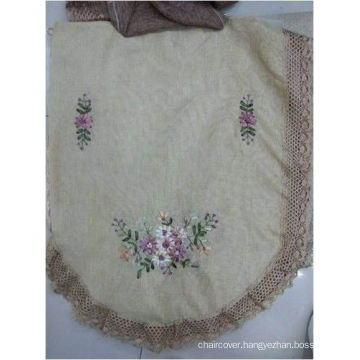 St16-34 Ribbon Embroidery Sofa Cover