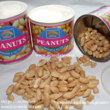 roasted and salted peanut packed in tins for supermarket