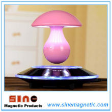 Magnetic Levitation Mushroom Music Night Lamp with Bluetooth Speaker