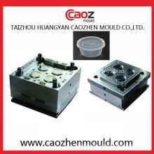 4 Cavidade / plástico Thin parede recipiente tampa Mold