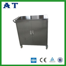 Stainless Steel Medical Cabinet with two doors