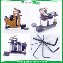 2pcs/Lot Pro fer Tattoo Machine guns 10 envelopper bobines Liner Shader alimentation 12 MIO pour fournitures de kits de tatouage débutant