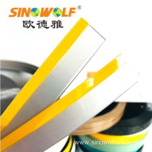 Customized for Yellow Color Edge Banding 1.0mm 3D Acrylic Edge Banding Double Wood Color export to South Korea Exporter