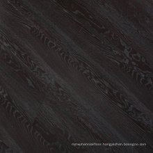 12mm Black Classic Oak Hand-Scraped Finish Laminate Flooring