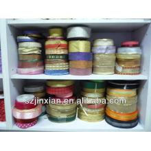 Single face 100% silk satin ribbon