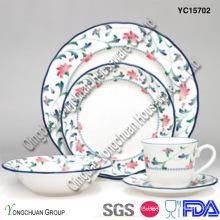 Conjunto de jantar de porcelana decorativas (conjunto de 30)