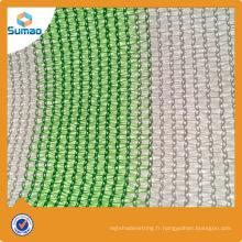 Filet d'ombre de parking de HDPE vierge de 100% pour carport de Sumao