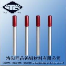 Bom preço polimento tungstênio eletrodo de soldagem Wt20 Dia2.4 * 175