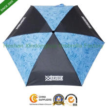 Light Slim Five Fold Umbrellas for Promotional Gift (FU-5619ZF)