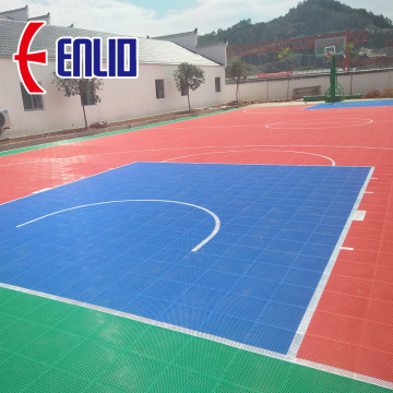 Interlocking Outdoor Basketball Court Tiles