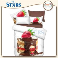 GS-FM3DCD-10 strawberry bedding 3d printed bedsheet fabric