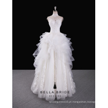 Vestidos de noiva oie western style aliexpress do vestido da noiva do vestido da noiva do vestido da ilusão à venda