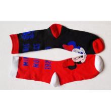 Chaussettes colorées de coton Happy Cartoon enfants