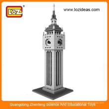 LOZ Série mundialmente famosa da arquitetura - a torre do pulso de disparo Bricks do bloco de edifício