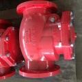Фланцевый концевой обратный клапан (XQH-300)