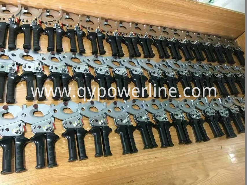 Gear Type Cable Conductor Cutter
