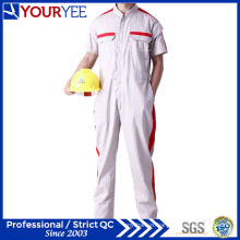 Short Sleeve Coveralls White Workwear for Summer (YLT116)