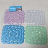 Rectangle shell anti-silp Sink Mats In Color