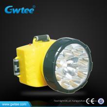 Mais barato Super brilho levou recarregável mineiro lâmpada