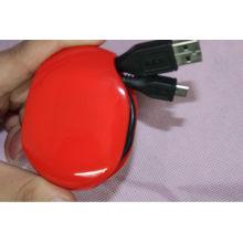 enrollador de cable del cable del auricular de la bobinadora del teléfono