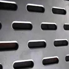 Hoja de metal perforada con diferente agujero en forma