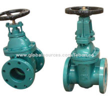 OS & Y cast iron stem gate valve with CE and TS marks