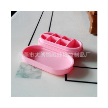 Waterproof Portable Silicone Pill Box in Seven Cells