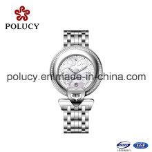 2016 China fábrica venta directa aleación alta calidad marca Suiza reloj de cuarzo