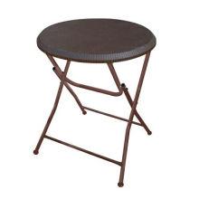 63 см Пластиковый небольшой складной круглый стол