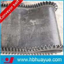 Correia de borracha do Sidewall Corrugado resistente ao calor da tela da tela de Ep