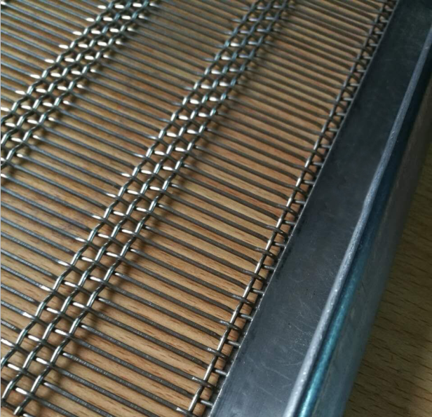 Crimped wire mesh7