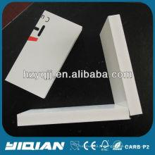 Placa de espuma de construção de gabinete de PVC branco de 15mm