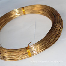 Brass brazing wire for brazing copper and copper alloy