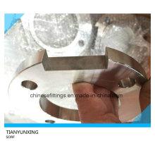 Deslizamento não-padrão em flange de aço inoxidável personalizado