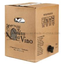 Saco do vinho na caixa / saco do babador do vinho na caixa