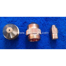 EP nozzle and electrode for India market