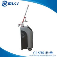 Máquina fraccional de eliminación de marca / tatuaje / cicatriz con láser de CO2