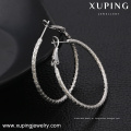 91682 atacado Xuping moda artesanal brinco de argola