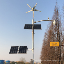 Customized wind power monitoring system