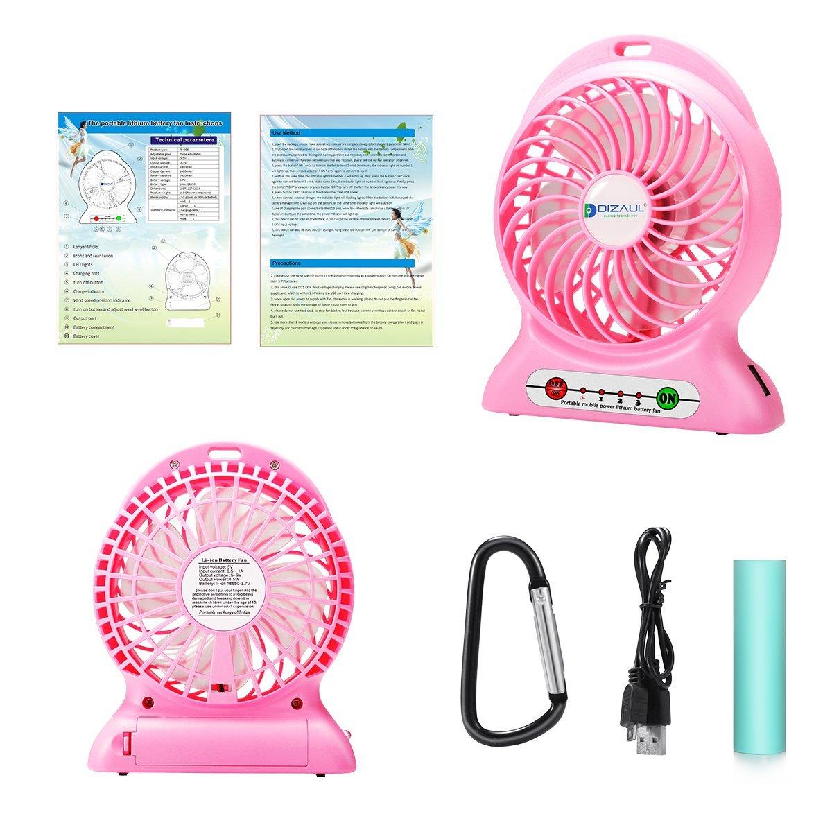 mini misting fan